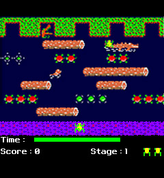 Frogger Screenshot 1