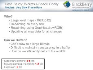 BlackBerry Game Development Challenges - Slide 16