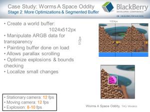 BlackBerry Game Development Challenges - Slide 18