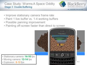 BlackBerry Game Development Challenges - Slide 19