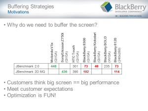 BlackBerry Games Development Challenges - Slide5